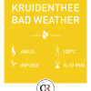kruidenthee bad weather